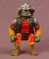 TMNT Mini Samurai Raphael Figure From A Mini Mutants Carry Along Communicator Playset