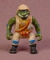 TMNT Mini Military Leonardo Figure From A Mini Mutants Turtletop Playset, 1 1/8 Inches Tall