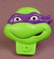 TMNT 1990 Donatello Ring, Nabisco Cereal Premium, Mirage Studios, Teenage Mutant Ninja