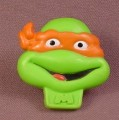TMNT 1990 Michaelangelo Ring, Nabisco Cereal Premium, Mike, Mirage Studios