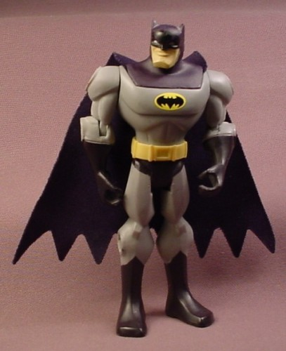 Batman Action Figure From A Batsub Blaster Set, Cloth Cape, 5 Inches Tall, 2009 Mattel