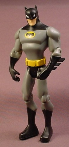 Batman Final Assault Action Figure, 5 1/4 Inches Tall, Shadow-Tek, Released In 2007