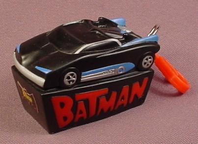 Batman Batmobile Lip Balm Topper, Chap Stick Holder With Clip, 2 3/4 Inches Long