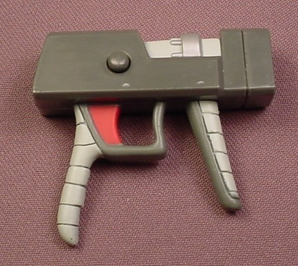 TMNT Pistol Weapon Accessory For A Commander Mozar Action Figure, 2004 Playmates