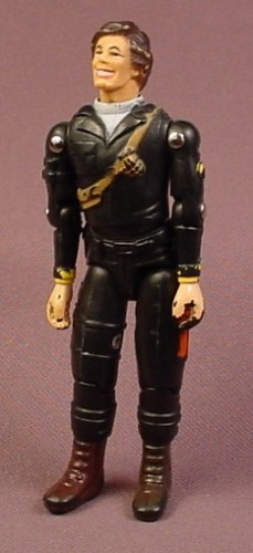 A-Team Face Templeton Peck Action Figure, 3 3/4 Inches Tall, Dirk Benedict, Released In 2004