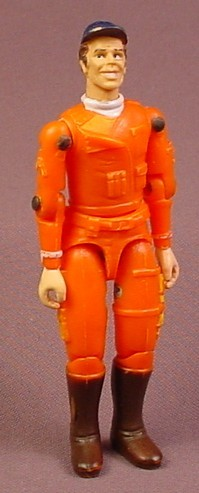A-Team Murdock Action Figure, 3 3/4 Inches Tall, Mad Murdock, Released In 1984