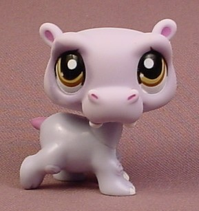Littlest Pet Shop Hippo Littlest Pet Shop #144...