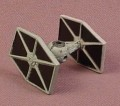 Star Wars Galoob Micro Machines 1993 Tie Fighter, Action Fleet, 1 1/4 Inches Long, 1993