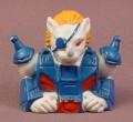 Battle Beasts Pirate Lion Finger Puppet Soft Rubbery Toy, 2 Inches Tall, Hasbro Takara