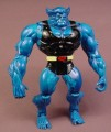 X-Men Beast Action Figure, 5 Inches Tall, Battle Blasters Series, Marvel, 1998 Toy Biz