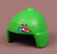 Playmobil Green Hat or Toque With Ear Flaps & A Button On The Top, 3191 4076