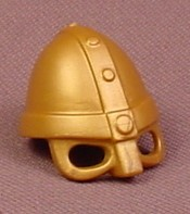 Playmobil Gold Viking Helmet With Eye & Nose Guards, 3150 5723, Wearable Accessory