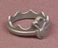 Playmobil Silver Gray Scalloped Crown With Center Decoration, 3841, Wearable Accessory
