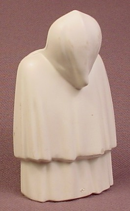 Playmobil White Shaped Cloak With Hood, Ghost Fairy, 4520 4579, Wearable Accessory