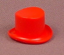 Playmobil Red Top Hat, Tophat, 3510 3545 3553, Figure Wearable Accessory, P3510C