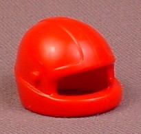 Playmobil Red Motorcycle Or Racing Helmet With Pegs For A Visor, 3289 3754 5174 5522 7326, 30 07 450