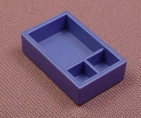 Playmobil Blue Shallow Box Or Drawer With Dividers, 4009 4343 4345 4346 4374 4921 5870 5965