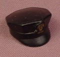 Playmobil Black Police Style Hat With A Brim & An Octagonal Top, 3144 3338, 30 65 5280