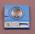 Playmobil Blue Washing Machine Door With A Round Clear Window, Has The Sticker Applied, 3206 5271