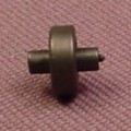 Playmobil Small Black Wheels With Axle Studs On Both Ends, 4234 4404 4406 4407 5012