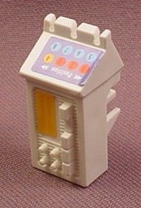 Playmobil White Dental Equipment & Controls With Sticker Applied, 3927 6662 7778, 30 21 7480