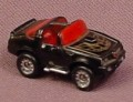 Micro Machines 1987 '70s Or '80s, Pontiac Trans Am, Black With Gold Wings, Red Interior