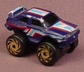 Micro Machines 1987 Road Champs BMW M3 Monster Truck, Mini Monster Wheels Series