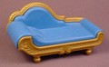 Playmobil Blue & Gold Chaise Lounge, Furniture, 3022 3098, 30 66 8440