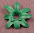 Playmobil Dark Green Narrow Plant Leaves With A Socket In The Center, 5335, 30 21 3722