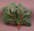 Playmobil Large Dark Green Tree Branch With Oak Leaves, 3626 3627 3650 3826 4207 5004 6464 7076 7093