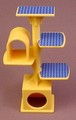 Playmobil Yellow Orange Cat Tree With Several Platforms & Hiding Places, 3 5/8 Inches Tall