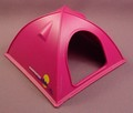 Playmobil Purple Or Magenta Molded Plastic Modern Tent, 3844 7260, 30 04 8780