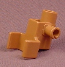 Playmobil Brown Open Clip To Hold A Pulley Swivel, 3123 3665 3666 3888 4063, 30 07 6170