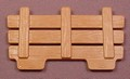 Playmobil Brown Wood Slat Wagon Side Panel, 3674 6005, 30 07 7320