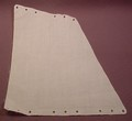 Playmobil White Fabric Or Cloth Trapezoidal Aft Or Rear Sail, 5618 5678 5950, 40 80 0020