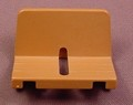 Playmobil Brown Wagon Seat With A Slot In The Center, Vehicle Part, 3111 3314 3674 3891