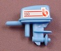 Playmobil Blue Outboard Motor For An Inflatable Boat Or Raft, Vehicle Part, 3574 7872
