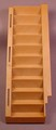 Playmobil Brown Interior Staicase Or Stairs, 5300 5305 7411, Building Piece, 30 05 7070
