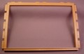 Playmobil Brown Open Wall Frame, 3 Units Wide, 10 Inches Wide, 5300 5955, 30 05 7200