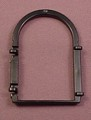 Playmobil Black Window Frame With Arch Top, 3269 3666 5757 7760, Building Piece