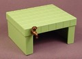 Playmobil Light Green Square Tiled Table With Water Tap, 4343, 30 28 7310