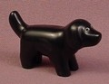 Playmobil 123 Black Dog Animal Figure, 6601