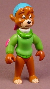 Disney Tale Spin Kit Cloudkicker Action Figure, 3 3/4 Inches Tall, Talespin, Tailspin, 1991