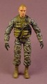 GI Joe Bravo Team Captain Drew Masters Action Figure, 4 Inches Tall, Forces Of Valor, G.I.