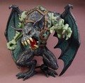 Chap Mei Winged Dragon Beast Fantasy Action Figure With Glowing Red Eyes & Mouth