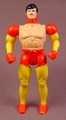 Marvel Super Heroes Iron Man Action Figure, No Armor, 4 5/8 Inches Tall, Series 2, 1991