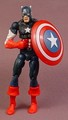 Captain America Action Figure, 4 Inches Tall, Removable Shield, 2005