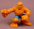 Fantastic Four The Thing Super Hero Squad Action Figure, 2 3/8 Inches Tall, Series 4