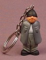 Homies Eightball PVC Figure With Keychain, 1 5/8 Inches Tall, Set 1, 2007 X-Concepts
