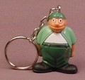 Homies Sapo PVC Figure With Keychain, 1 3/4 Inches Tall, Set 1, 2007 X-Concepts